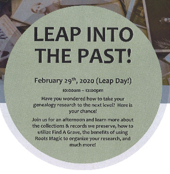 Leap Into The Past